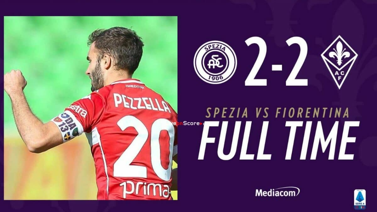 Spezia 2-2 Fiorentina Full Highlight Video – Serie Tim A