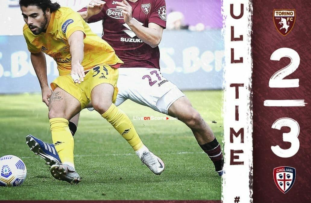 Torino 2-3 Cagliari Full Highlight Video – Serie Tim A