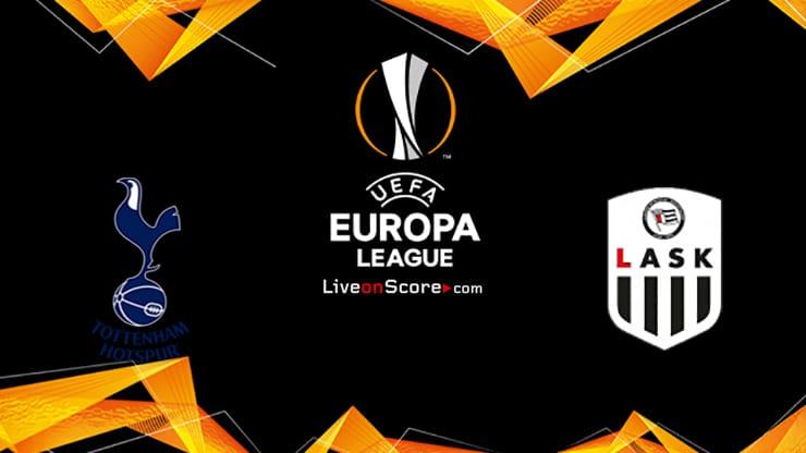 Tottenham vs LASK Preview and Prediction Live stream UEFA Europa League 2020/2021