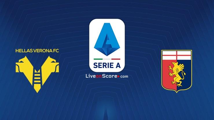 Verona vs Genoa Predicción y predicción Transmision en vivo Serie Tim A 2020/21
