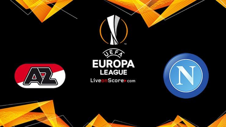 AZ Alkmaar vs Napoli Preview and Prediction Live stream UEFA Europa League 2020-21