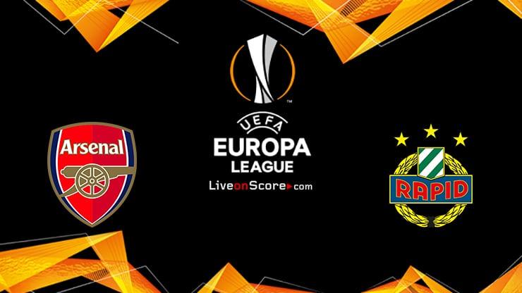 Arsenal vs Rapid Vienna Preview and Prediction Live stream UEFA Europa League 2020-21