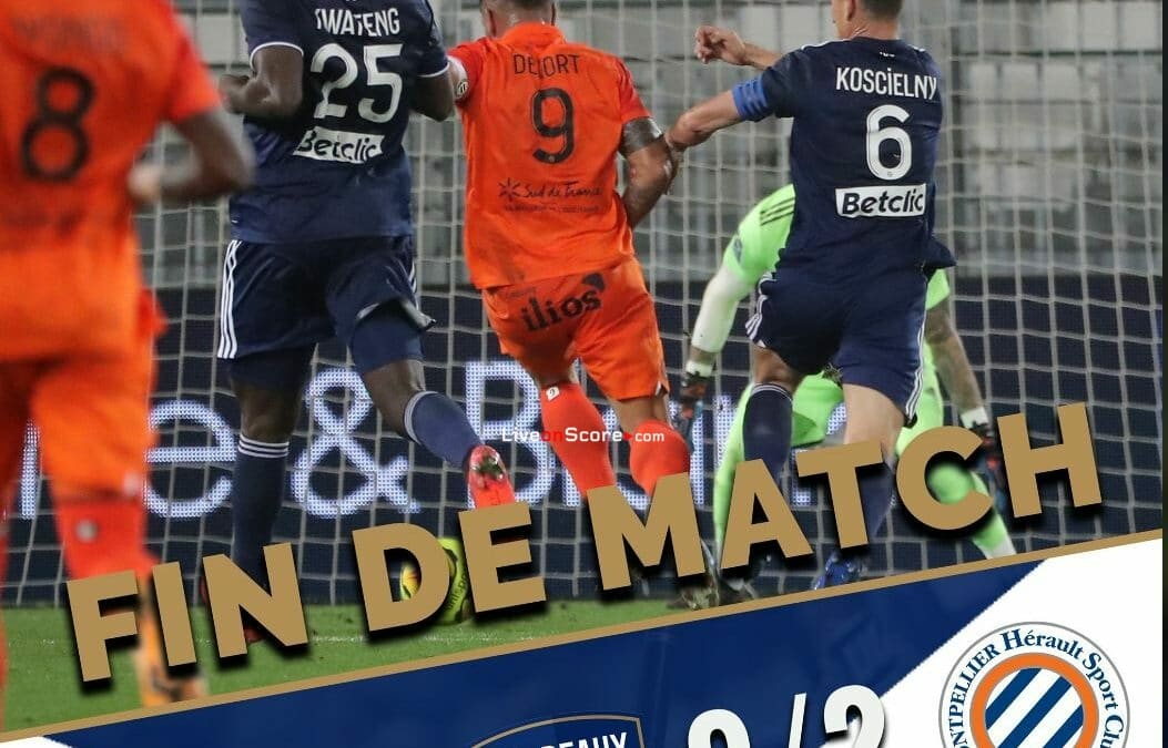 Bordeaux 0-2 Montpellier Full Highlight Video – France Ligue 1