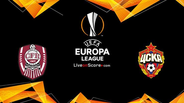 CFR Cluj vs CSKA Sofia Preview and Prediction Live stream UEFA Europa League 2020-21