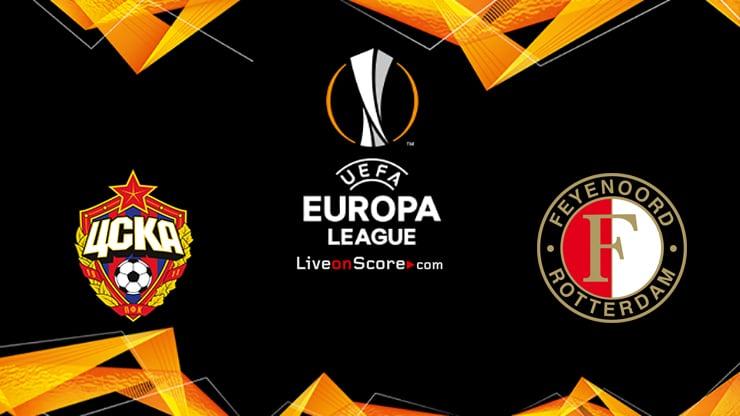 CSKA Moscow vs Feyenoord Preview and Prediction Live stream UEFA Europa League 2020/2021