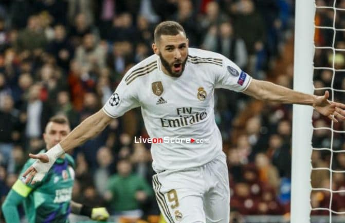 Benzema has scored in four consecutive matches