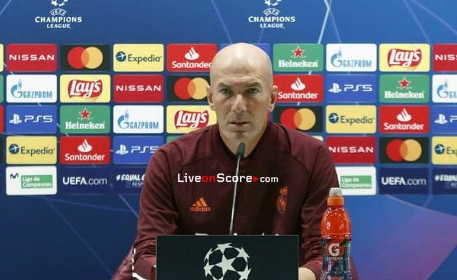 "Zidane: ""The team's in good shape and we're aware of the importance of the game"""