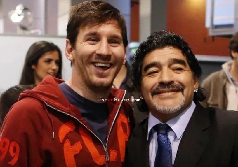 Messi – Diego is eternal
