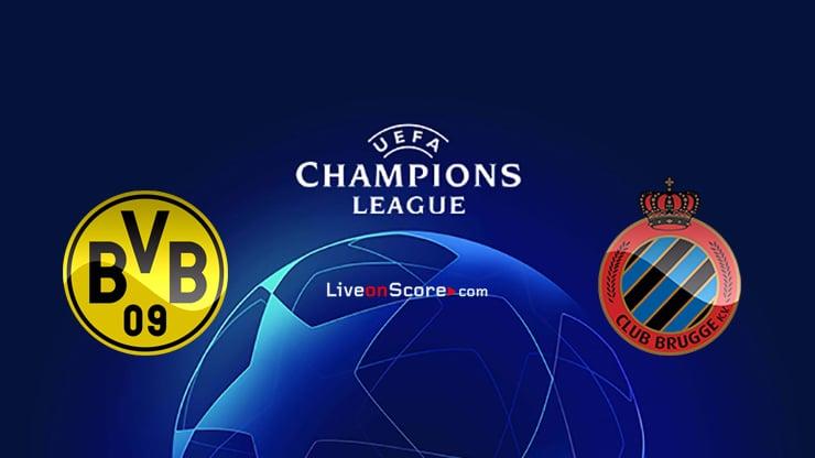 Dortmund vs Club Brugge KV Preview and Prediction Live stream UEFA Champions League 2020/2021