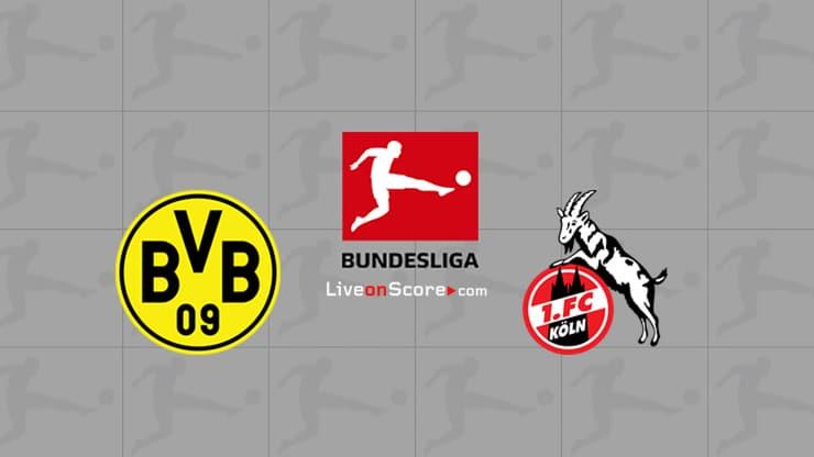 Dortmund vs FC Koln Preview and Prediction Live stream Bundesliga 2020-21