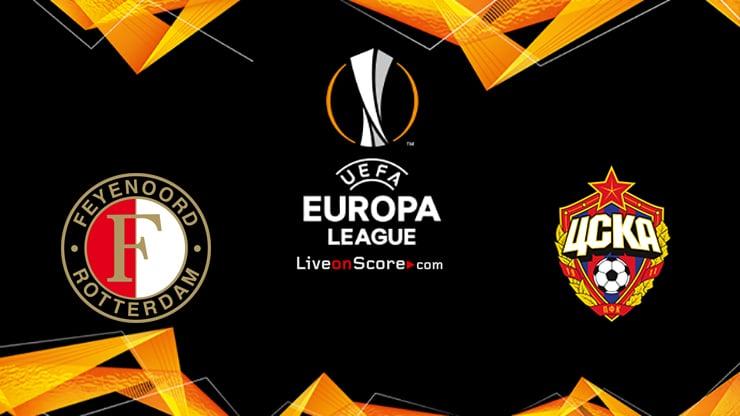 Feyenoord vs CSKA Moscow Preview and Prediction Live stream UEFA Europa League 2020/2021