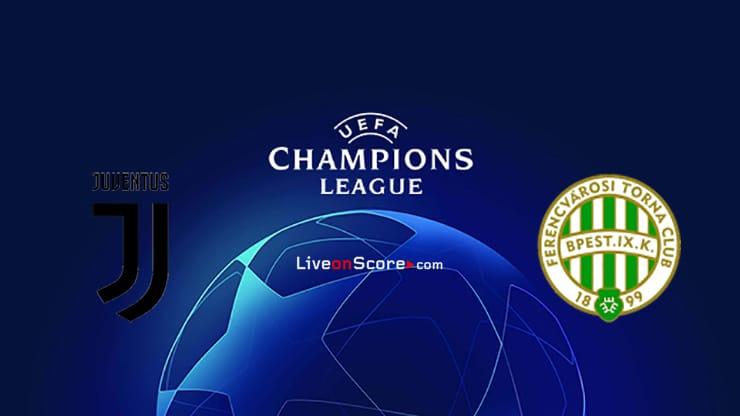 Juventus vs Ferencvaros Preview and Prediction Live stream UEFA Champions League 2020/2021