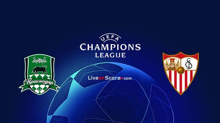 Krasnodar vs Sevilla Preview and Prediction Live stream UEFA Champions League 2020/2021