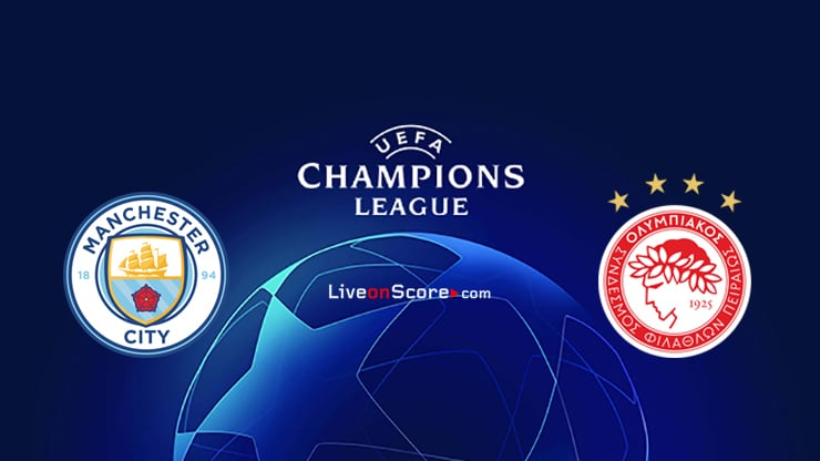 Manchester City vs Olympiacos Piraeus Preview and Prediction Live stream UEFA Champions League 2020/2021