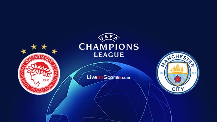 Olympiacos Piraeus vs Manchester City Preview and Prediction Live stream UEFA Champions League 2020/2021
