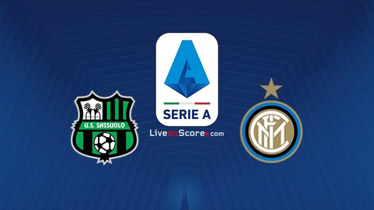Sassuolo vs Inter Preview and Prediction Live stream Premier League 2020-21