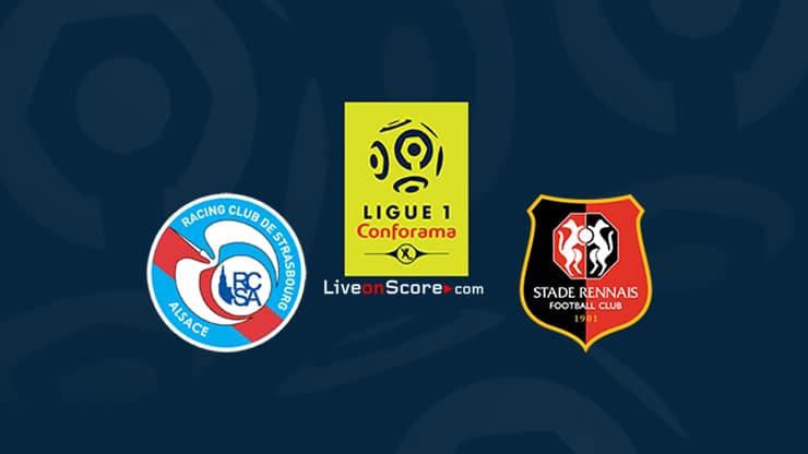Estrasburgo vs Rennes Previa y predicción Transmision en vivo Ligue 1 2020-21