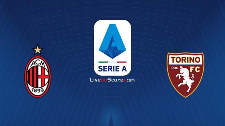 AC Milan vs Torino Preview and Prediction Live stream Serie Tim A 2021