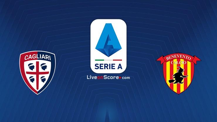 Cagliari vs Benevento Preview and Prediction Live stream Serie Tim A 2021