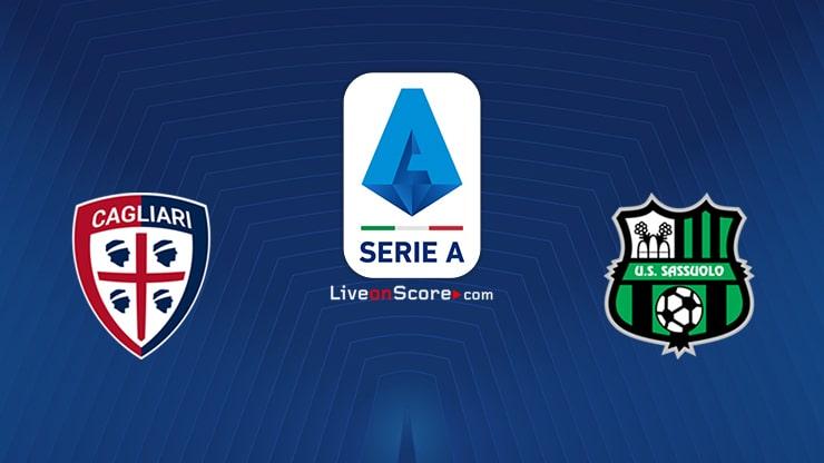 Cagliari vs Sassuolo Preview and Prediction Live stream Serie Tim A 2021