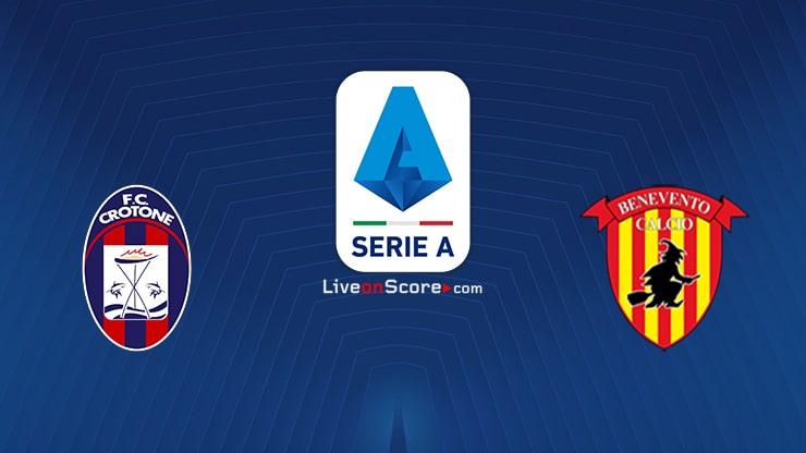 Crotone vs Benevento Preview and Prediction Live stream Serie Tim A 2021