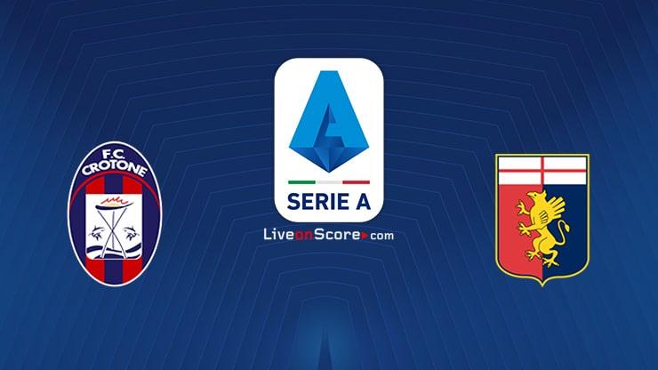 Crotone vs Genoa Preview and Prediction Live stream Serie Tim A 2021