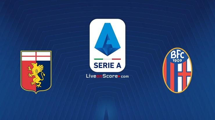 Genoa vs Bologna Preview and Prediction Live stream Serie Tim A 2021