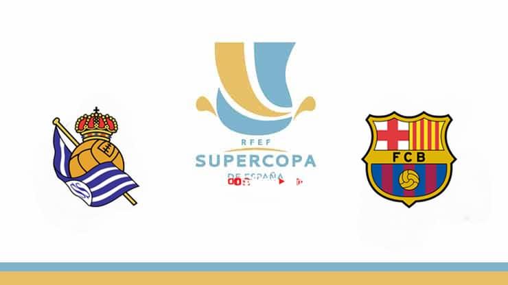 Real Sociedad vs Barcelona Preview and Prediction Live stream – Spain Super 2021