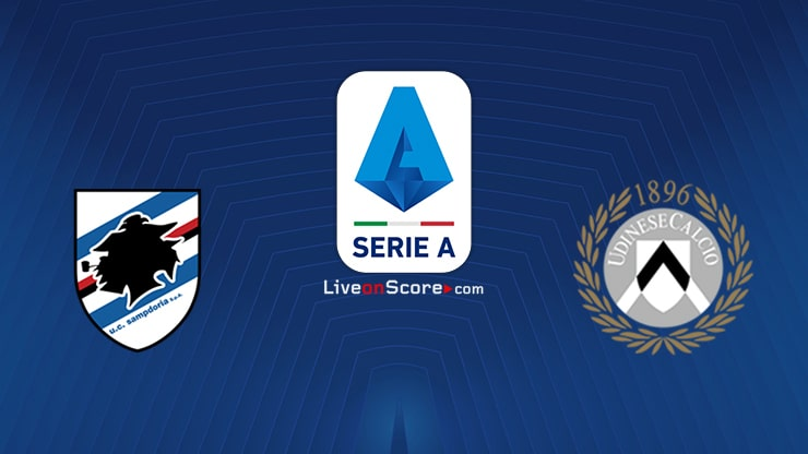 Sampdoria vs Udinese Preview and Prediction Live stream Serie Tim A 2021