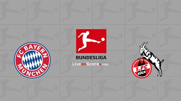 Bayern Munich vs FC Koln Preview and Prediction Live stream Bundesliga 2021