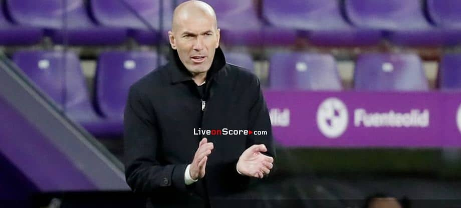 """Zidane: """"We're doing well. We're showing consistency with the results."""""""