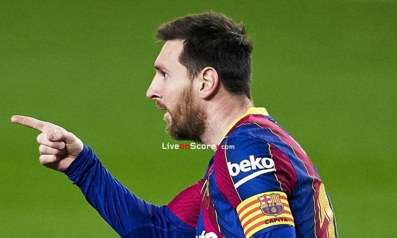 Messi is solo leader in the Pichichi race