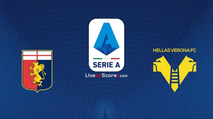 Genoa vs Verona Preview and Prediction Live stream Serie Tim A 2021