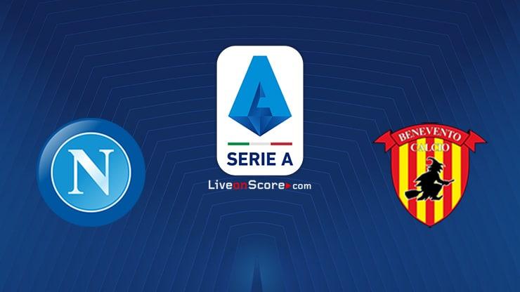 Napoli vs Benevento Preview and Prediction Live stream Serie Tim A 2021