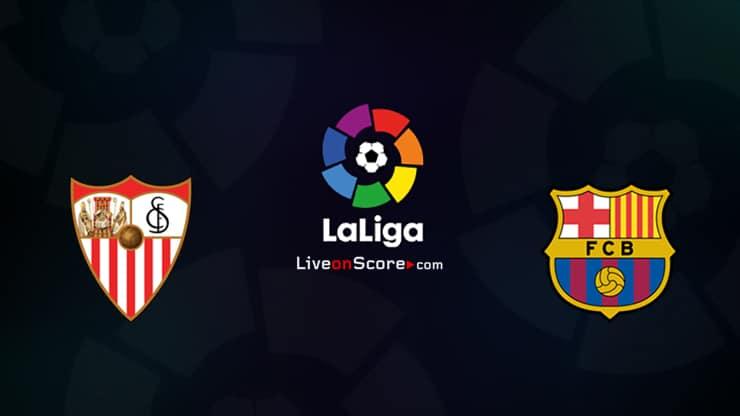 Sevilla vs Barcelona Preview and Prediction Live stream LaLiga Santander 2021
