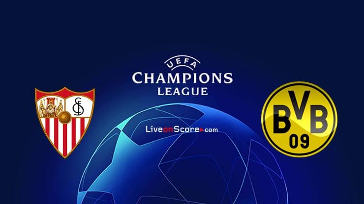 Sevilla vs Dortmund Preview and Prediction Live stream UEFA Champions League 1/8 Finals  2021