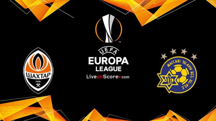 Shakhtar Donetsk vs Maccabi Tel Aviv Preview and Prediction Live stream UEFA Europa League 1/16 Finals  2021