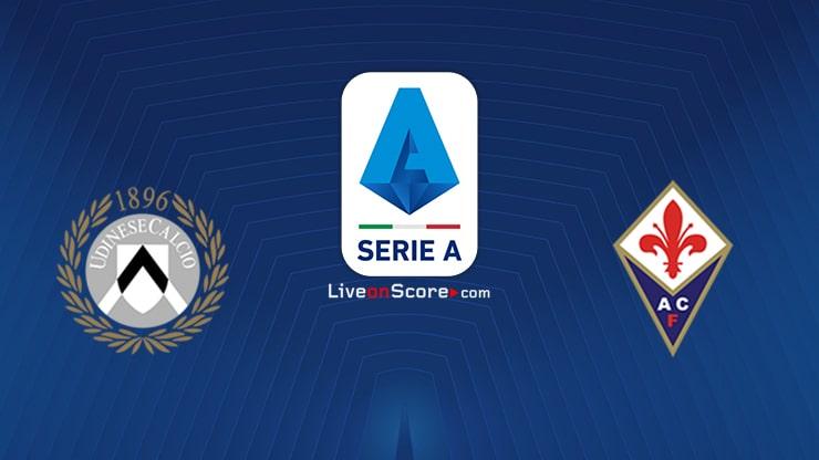 Udinese vs Fiorentina Preview and Prediction Live stream Serie Tim A 2021