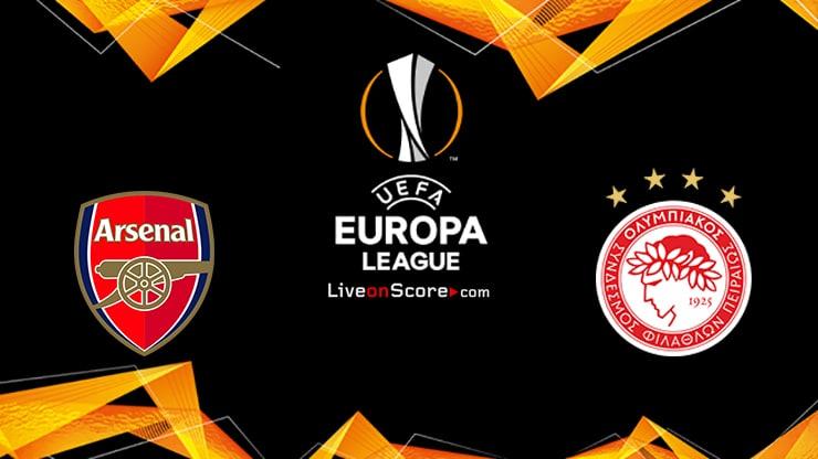 Arsenal vs Olympiacos Piraeus Preview and Prediction Live stream UEFA Europa League 1/8 Finals  2021
