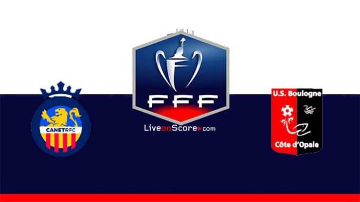 Canet Roussillon vs Boulogne Preview and Prediction Live stream Coupe de France 2021