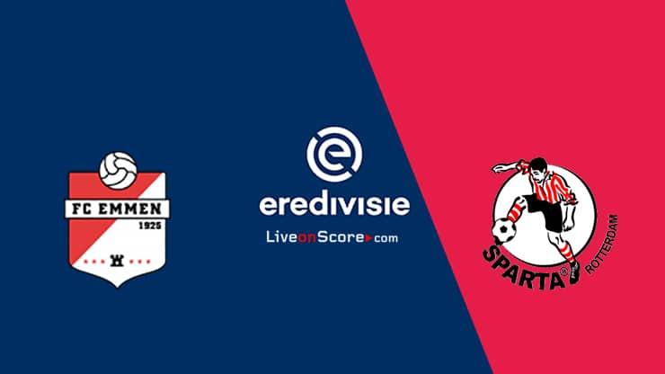 FC Emmen vs Sparta Rotterdam Preview and Prediction Live stream  Eredivisie 2021