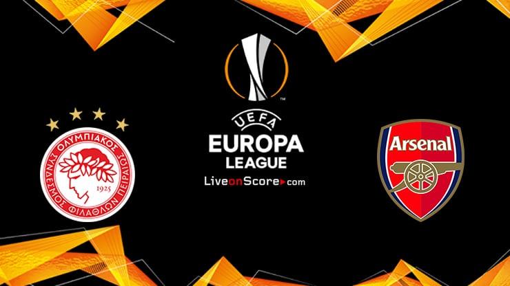 Olympiacos Piraeus vs Arsenal Preview and Prediction Live stream UEFA Europa League 1/8 Finals  2021