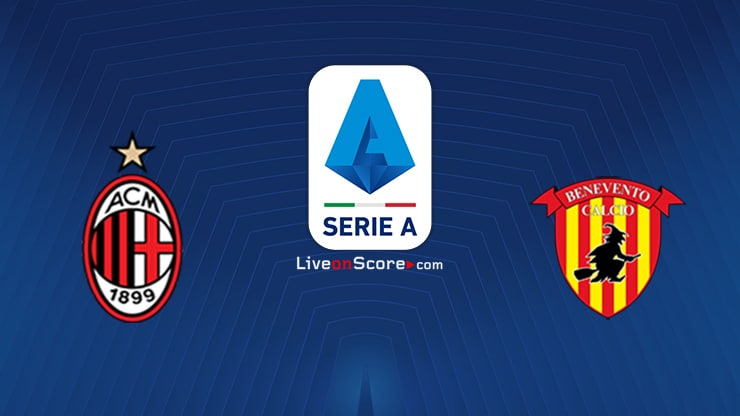AC Milan vs Benevento Preview and Prediction Live stream Serie Tim A 2021
