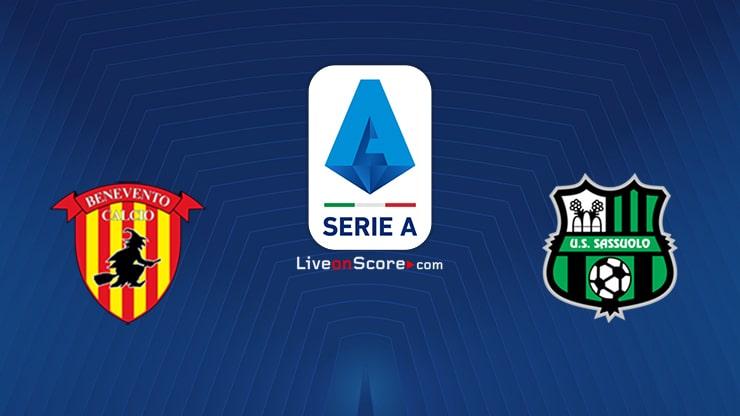 Benevento vs Sassuolo Preview and Prediction Live stream Serie Tim A 2021