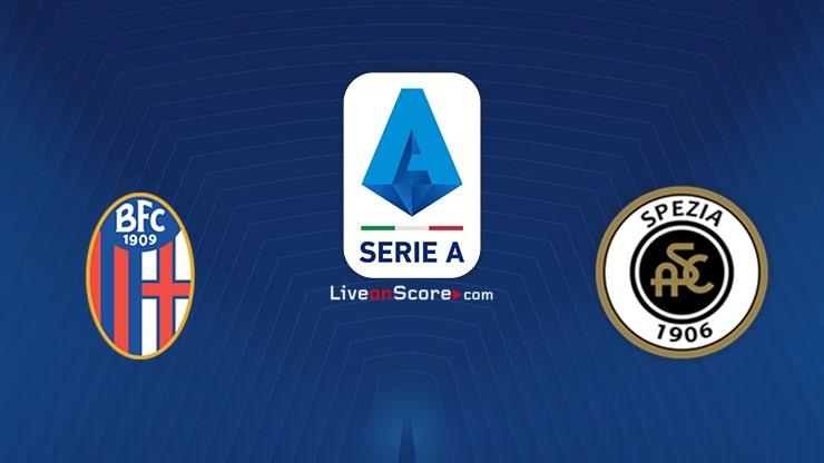 Bologna vs Spezia Preview and Prediction Live stream Serie Tim A 2021