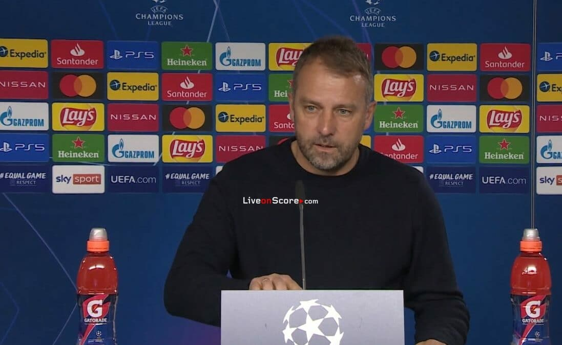 Hansi Flick press conference ahead of PSG first leg