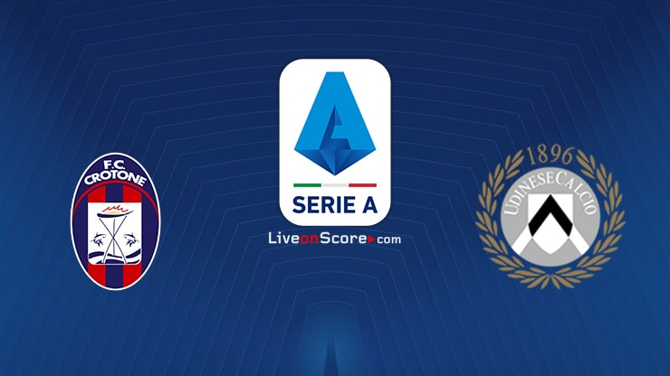 Crotone vs Udinese Preview and Prediction Live stream Serie Tim A 2021