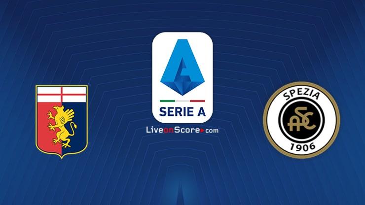 Genoa vs Spezia Preview and Prediction Live stream Serie Tim A 2021