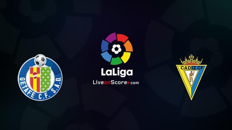 Getafe vs Cadiz CF Preview and Prediction Live stream LaLiga Santander 2021