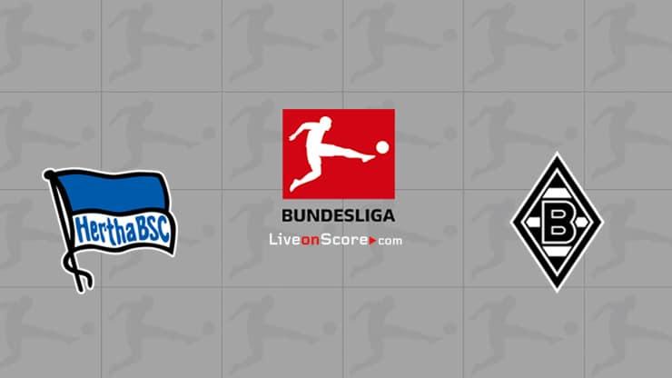 Hertha Berlin vs B. Monchengladbach Preview and Prediction Live stream Bundesliga 2021